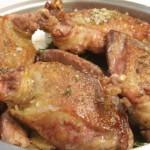 Petti di piccione rosolati in padella