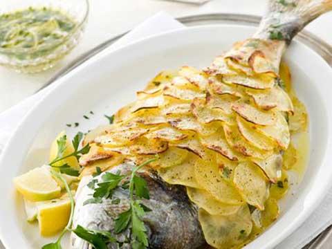 Francesco pasqualoni nutrizionista biologo ed erborista orata o altro pesce al forno con - Ricette con forno a vapore ...