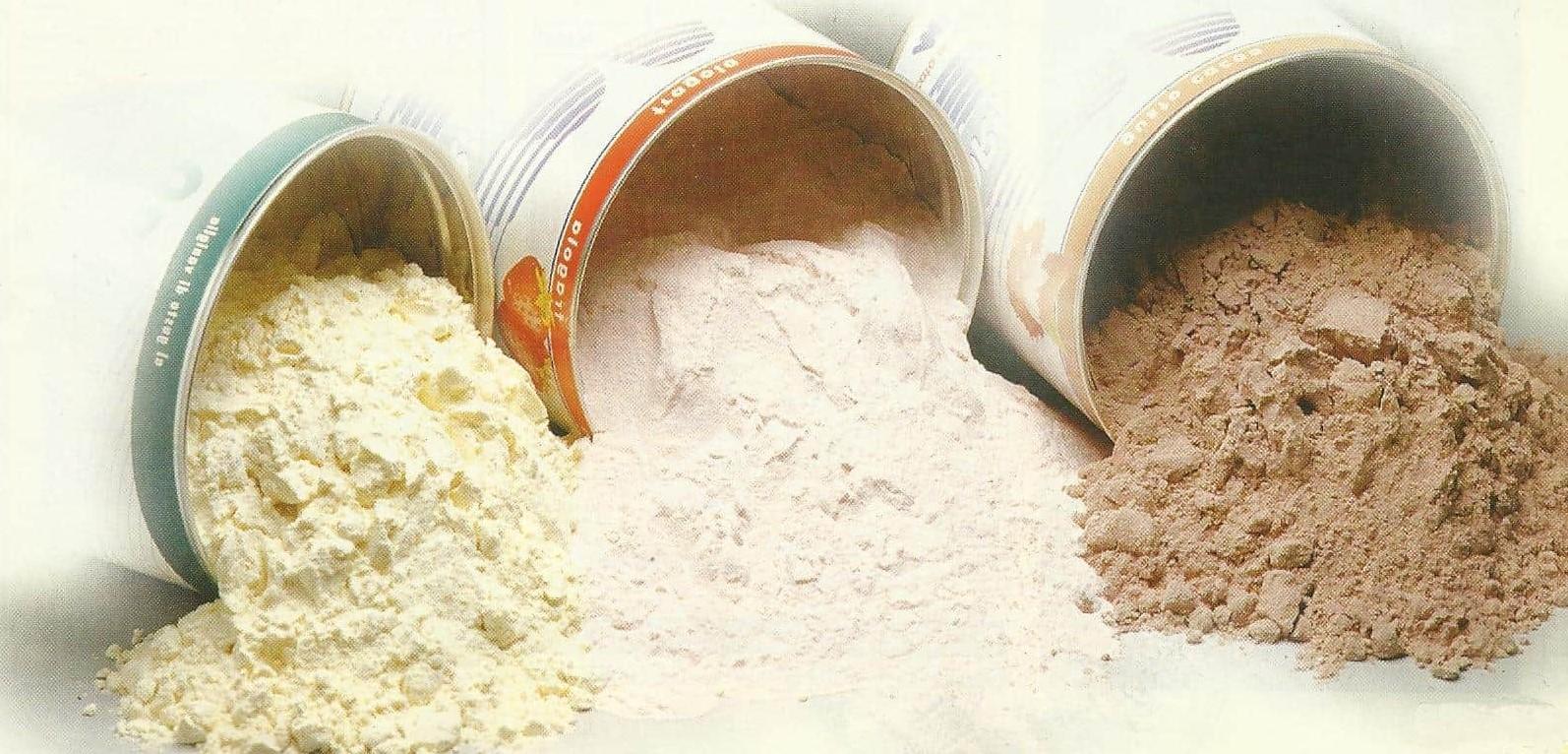 Proteine-polvere